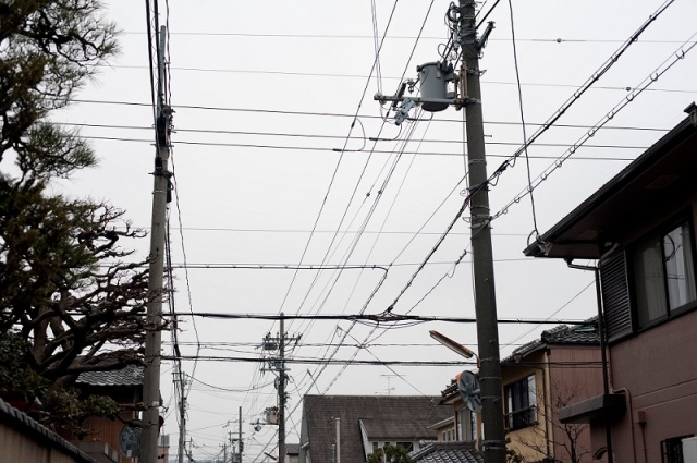 japanese power lines